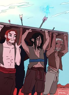 Rock, Kaladin, and Teft during one of their Bridge Runs. Syl will lead the way. Kaladin Stormblessed, Brandon Sanderson Stormlight Archive, The Way Of Kings, The Kingkiller Chronicles, Art Memes, Fantasy Warrior, Book Fandoms, Storms, Wok