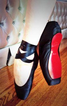 Louboutin toe shoes