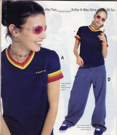 "Pin for Later: This dELiA*s Catalog Has eVerYthiNg You Wanted In the '90s And these ""If pants actually fit my body, I don't want 'em."""