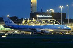 "KLM Boeing 747-406M PH-BFO ""City of Orlando"" at Amsterdam-Schiphol."