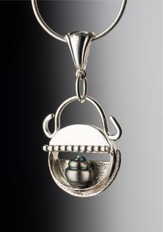 Tahitian pearl nestled in sterling silver, hand forged, artisan, US made. SOLD www.jnelsonart.com