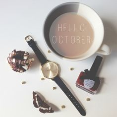 Wow, time flies when you're having fun! Here's to a month of hot chocolate and crunchy leaves <3