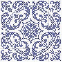 biscornu pattern .