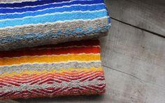 Color Hand-woven Rug  - Pure Wool Rug - Handmade Rug - Home Decoration. $310.00, via Etsy.