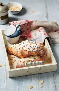 Almond croissants made easy recipe from Breakfast: Morning, Noon & Night by Fern Green | Cooked