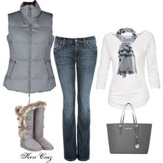 """Winter Skies the Limit"" by keri-cruz on Polyvore"