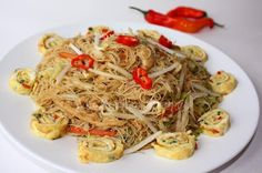 My Kitchen Snippets: Fried Mee Hoon with Sa Cha Sauce