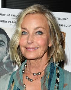 """Bo Derek Photos - Bo Derek attends the Premiere Of Sony Pictures Classic's """"David Crosby: Remember My Name"""" at Linwood Dunn Theater on July 2019 in Los Angeles, California. - Premiere Of Sony Pictures Classic's 'David Crosby: Remember My Name' - Arrivals Grey Hair Transformation, Going Gray Gracefully, Makeup Over 50, Catherine Bach, Blonde Moments, Bo Derek, Beauty Forever, Blonde Hair Blue Eyes, Ageless Beauty"""