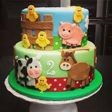Resultado de imagen para torta animales de la granja