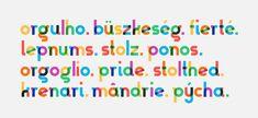 Gilbert, il font ispirato alla bandiera arcobaleno