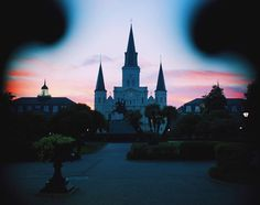 We'll take one sunset at Jackson Square, please.
