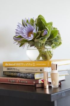a collection of kate's favourite coffee table books and charlotte tilbury loves