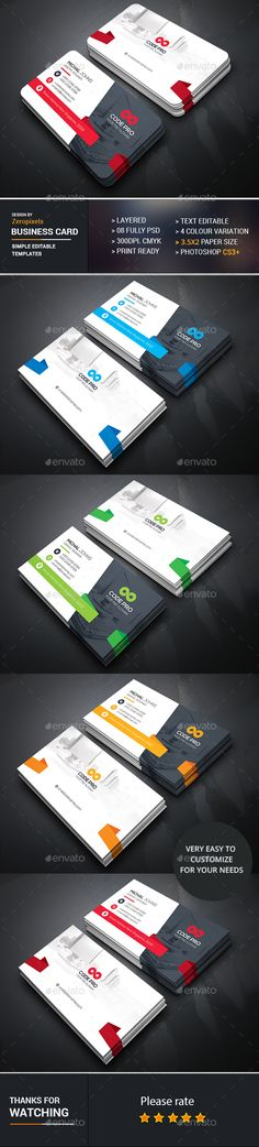 Business Card Template PSD. Download here: https://graphicriver.net/item/business-card/16922629?ref=ksioks
