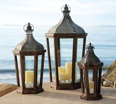 Park Hill Lanterns | Pottery Barn