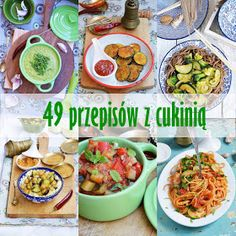 49 przepisów z cukinią Sweet Recipes, Healthy Recipes, Fat Loss Diet, Calzone, Ketogenic Diet, Grilling, Clean Eating, Curry, Food And Drink