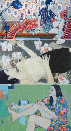 Illustrations by Hope Gangloff (via @Elizabeth Lockhart Hovav!):
