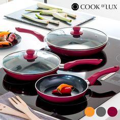 40,14€ Padelle in Ceramica Cook D'Lux (5 pezzi) in vendita in offerta su https://takkat.eu/it/padelle/13699-padelle-in-ceramica-cook-d-lux-5-pezzi.html - Dai alla tua cucina un tocco di eleganza e qualità con le padelle in ceramica Cook D'Lux (5 pezzi)! www.cookdlux.com Rivestimento antiaderente in ceramica Alta resistenza Base in alluminio Manici ergonomici e termoresistenti Padella 20 x 4 cm(diametro x altezza) Padella 24 x 4,5 cm, con coperchio in vetro Padella 28 x 5 cm, con coperchio…