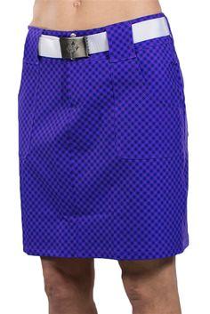 JoFit Belted Golf Skort - New Violet