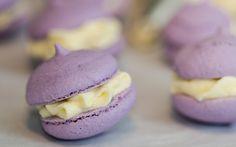 Cómo hacer Macarons de violetas y crema | Demos la vuelta al día