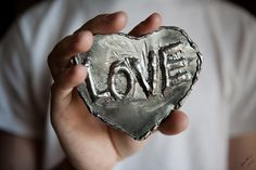 A Welded Valentine!  Here's a great idea for you guys! #welding #valentine