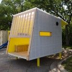 Looking for a playhouse for your kids? Proceeds from the auction will help raise money for the Workforce Development Programs which train unemployed people in the Central Texas.