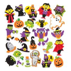 Shop the exclusive range of arts and crafts at Baker Ross. Craft supplies, craft activities and much more. Halloween Treats For Kids, Halloween Stickers, Halloween 2020, Halloween Crafts, Halloween Decorations, Toy Craft, Arts And Crafts Supplies, Business For Kids, Bowser