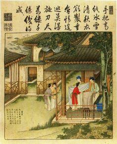 """En 1698,""""l'Amphitrite"""" est le premier batiment de commerce français à revenir de Chine et s'il accoste au Port-Louis c'est à Nantes que sa cargaison est vendue. Devant la diversité et l'originalité des objets et produits ramenés tout au long du XVIIIe siècle et la quête d'un modèle  pour ce siècle des Lumières, la Chine va bientôt apparaître comme le pays à la mode. L'influence de la Chine sur l'ensemble des productions artistiques occidentales est considérable."""