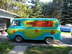 """AWESOME!  We trust """"Scooby & Shaggy"""" are inside? LOL Too Cool! :)"""