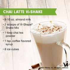 body by vi shake recipes | Body by Vi Shake Chai Latte Vi-Shake