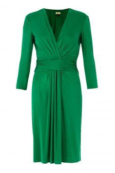 Issa london- Pleat waist dress
