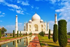 Taj Mahal- One of the Wonders of the World, Taj Mahal, a white marble mausoleum is a symbol of Love & also described as Dream in Marble. Best time to visit: Oct-Nov/Feb - Mar. Taj Mahal is closed on Fridays