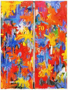 Thermometer by Jasper Johns