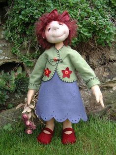 free small cloth doll patterns | FELT DOLL PATTERNS « Free Patterns