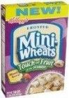KELLOGG'S FROSTED MINI WHEATS TOUCH OF FRUIT MIXED BERRY 15 OZ