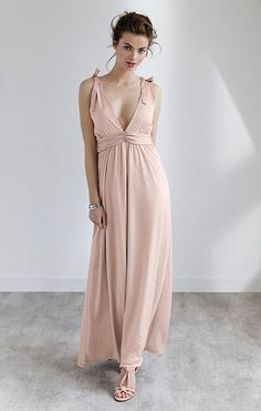 Gina tricot maxi dress
