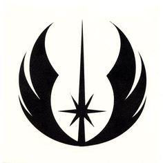 Jedi Symbol l for Joseph's shirt. Put JEDI on back?