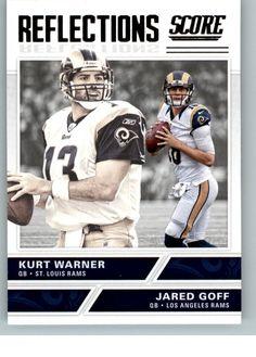2017 Score Football Reflections 1 Jared Goff Kurt Warner | Sports Mem, Cards & Fan Shop, Sports Trading Cards, Football Cards | eBay!