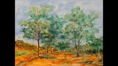 Alice Elahi Retrospective Painting a landscape that is disappearing as fast as rhino horns has been a life's mission for Pretoria-based artist Alice Elahi, w. Watercolor Art, Art Projects, Alice, Landscape, Eyes, Tutorials, Paintings, Artists, Youtube
