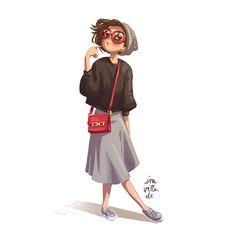 Girl by Iraville.deviantart.com on @DeviantArt