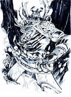 "Ungoliantschilde — ericcanete:   ""MUMM-RA, THE EVER LIVING"" - Pen and..."