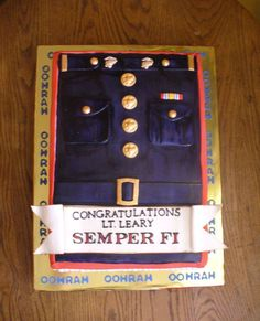 Usmc Officer Commissioning Ceremony  on Cake Central