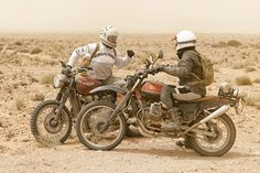 'BAJA V65' by Fuel Motorcycles. Scram Africa is like no other motorcycle ride on the planet. It's a 2500km trip along some of the most epic roads, trails and sand dunes through the south of Morocco and across the Altas mountains. To make it even more challenging, the ride is only for classic and neoclassic enduro bikes and scramblers. Scram is the brainchild of Karles from Fuel...