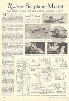 Realistic Seaplane Model 1932 p4 by pilllpat (agence eureka), via Flickr