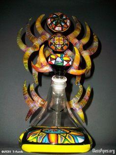 Crazy Glass Bong