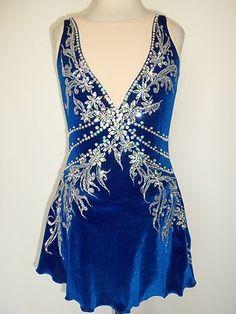 Custom Made Ice Skating Twirling Dress   eBay