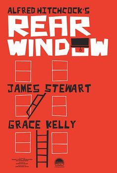 Alfred Hitchcock's Rear Window by Sam Novak