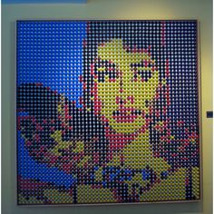 Wow that's an amazing display of Nespresso Capsules!