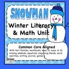 I have aligned this unit with common core and some of the concepts I teach in January. This unit has both a math and a litera...
