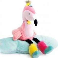 Découvrez la collection Doudou et compagnie>Tropicool>Flamant Rose Pillows, Collection, Plush, Greater Flamingo, Cushions, Pillow Forms, Cushion, Scatter Cushions