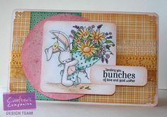 "Kaboo Designs Jodi Amidei ""Bunches"" - Stamp - Bebunni Floral Spectrum Noir Colored Pencils - 016, 075, 040, 059, 044, 021, 046, 052, 114, 116, 007, 008, 118 , 017, 029, 038, 018, 061, 111 @Crafter's Companion US #spectrumnoir"